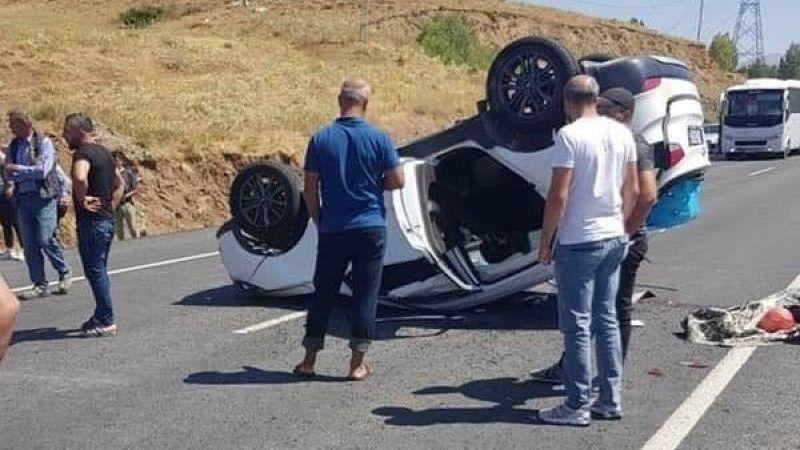 Tatvan'da trafik kazası: 2 ölü, 1 yaralı