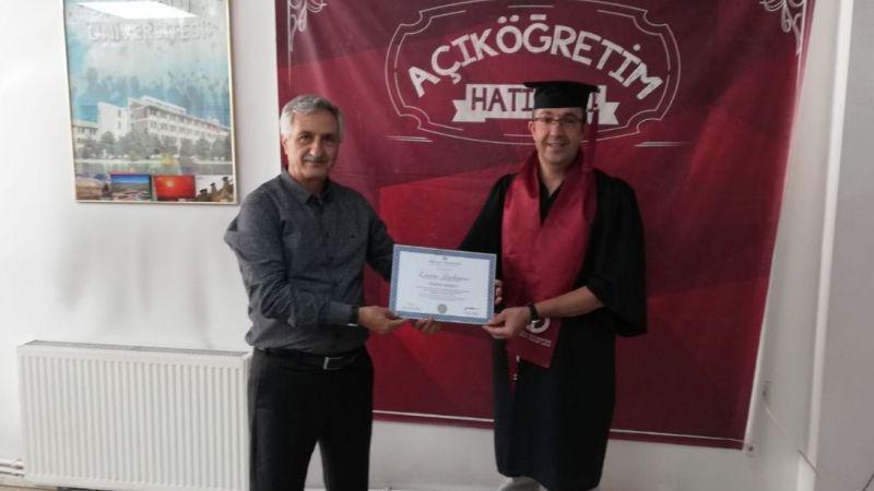 Van'da bir başarı öyküsü: Üçüncü diplomasını aldı