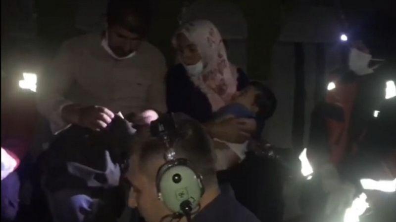Van'da parmağı kopan bebeğin imdadına Van Emniyeti yetişti