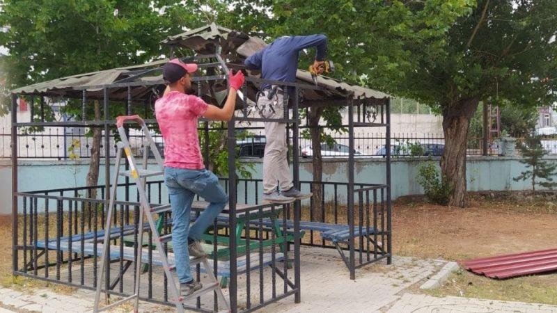 Van Çaldıran Belediyesi okulları yeni yıla hazırlıyor