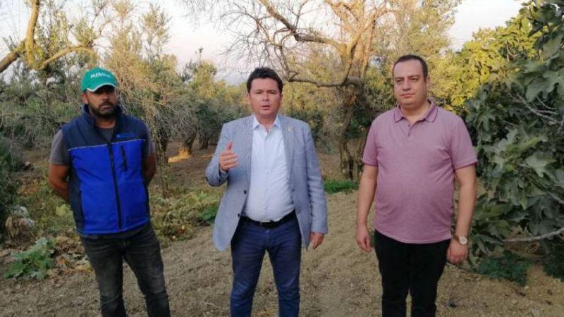 CHP Bursa Milletvekili Aydın zeytin bahçesinden seslendi