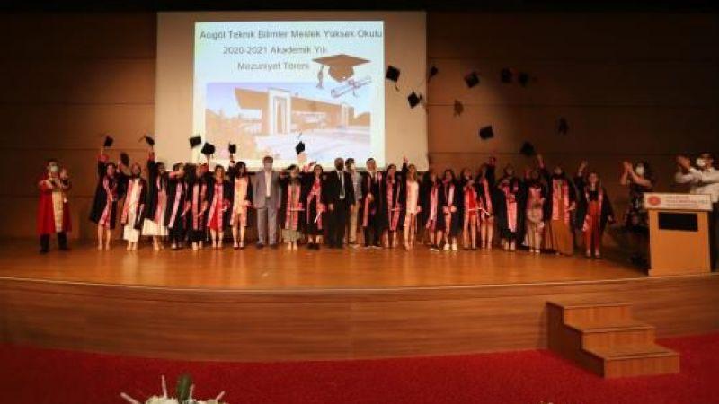 NEVÜ Acıgöl Teknik Bilimler MYO ilk mezunlarını verdi