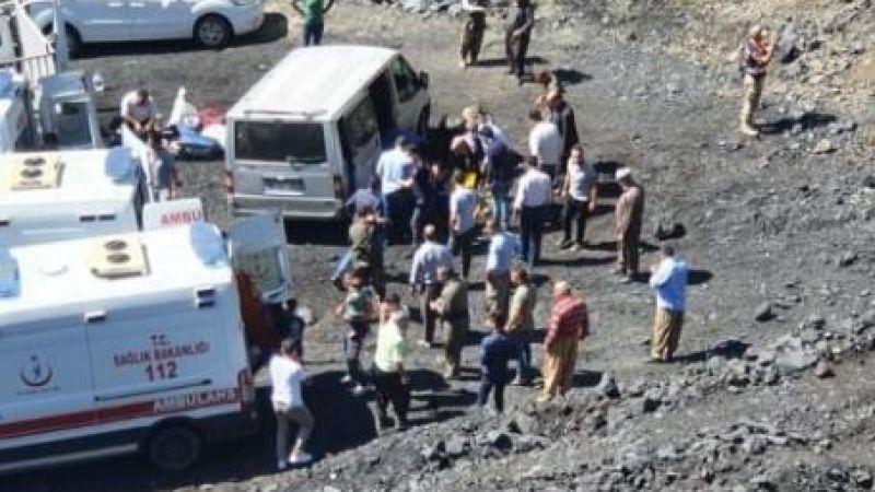 Asker ziyaretine gitmişlerdi! Araç uçurumdan yuvarlandı: 1 ölü, 4 yaralı