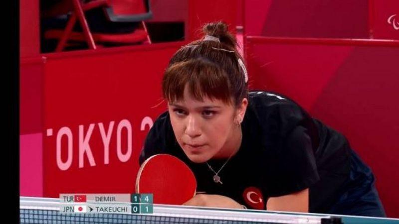 Merve Cansu Demir Paralimpik Olimpiyatları'nda çeyrek finalde