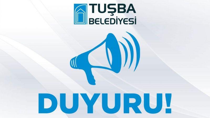 Tuşba Belediyesinden ihale açıklaması