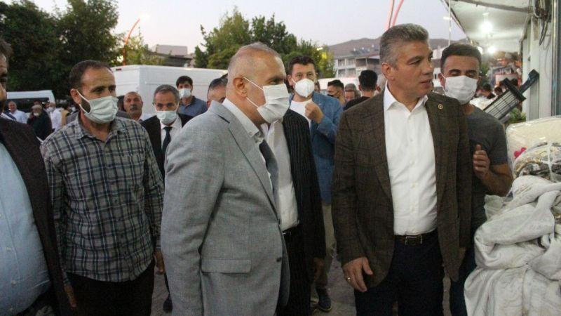 AK Parti heyetinden Van Muradiye esnafına ziyaret