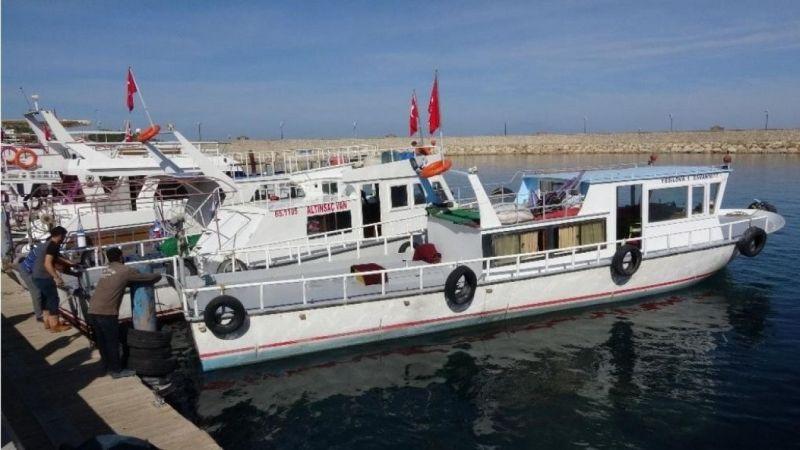 Van Gölü'ndeki kayıtlı balıkçı teknelerine bin 450 TL destek