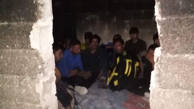 Van'da hava destekli göçmen operasyonu! 48 düzensiz göçmen yakalandı