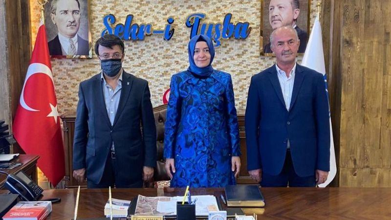 AK Parti MKYK Üyesi Kaya'dan, Başkan Akman'a ziyaret