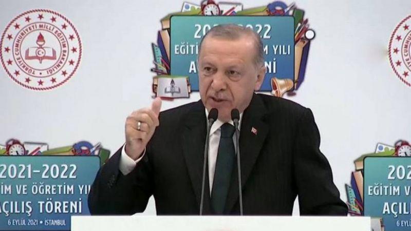 Cumhurbaşkanı Erdoğan: Yüz yüze eğitimi sürdürmekte kararlıyız