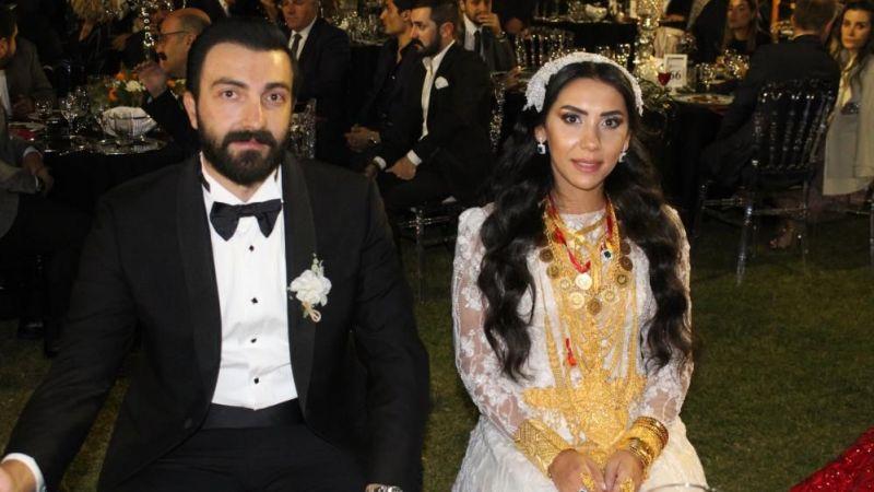 Bayram ailesinin mutlu günü! Çifte 2 milyon lira ve 4 kilo altın takıldı