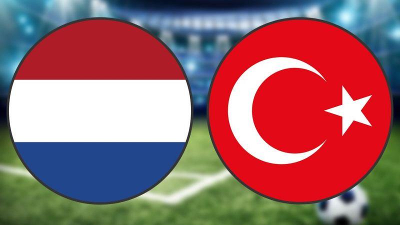 Hollanda Türkiye maçı ne zaman saat kaçta hangi kanalda?