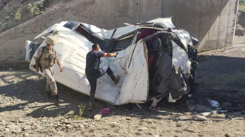 Van'da trafik kazası: 1 kişi hayatını kaybetti