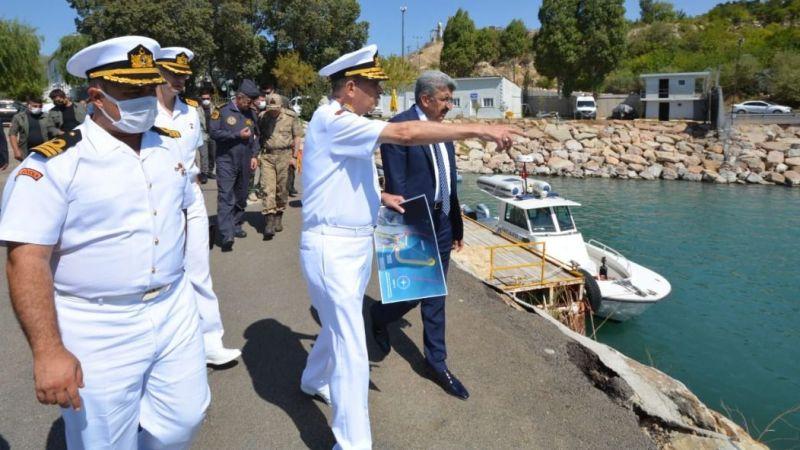 Sahil Güvenlik Komutanı Tümamiral Ahmet Kendir