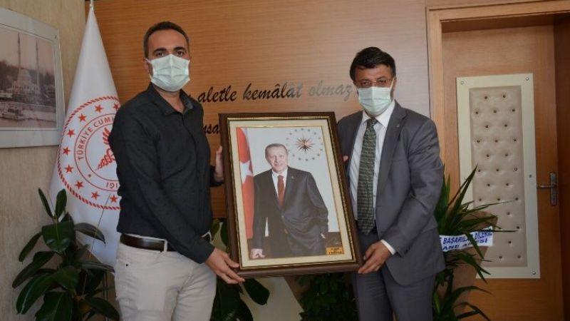 Van AK Parti heyetinden hastane yönetimine ziyaret