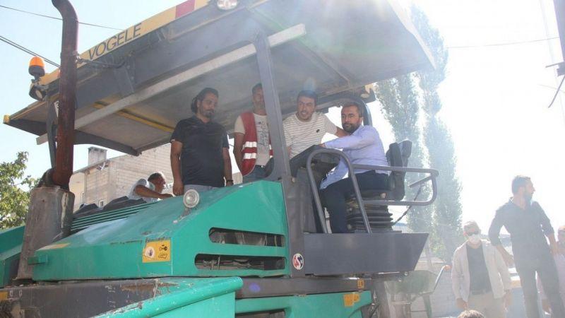 Edremit'te 26 sokak asfaltlanıyor