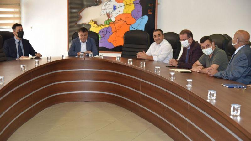 Van Sağlık İl Müdürlüğü'nden pandemi ve aşılama konulu istişare toplantısı