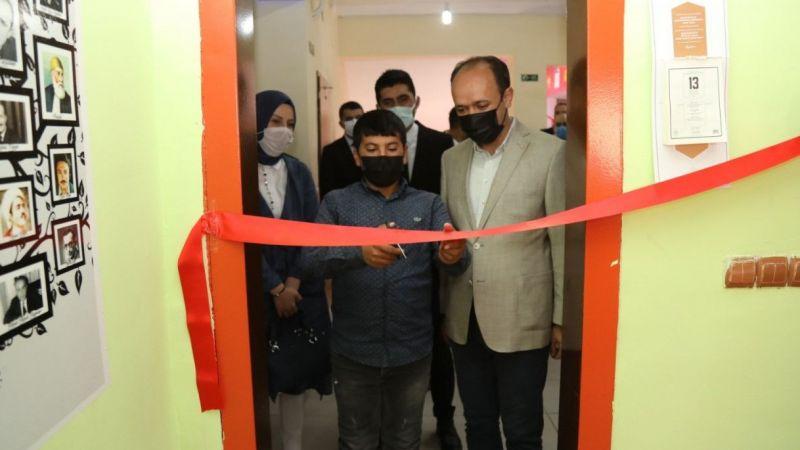 Başkale'de okul kütüphanesi öğrencilerin hizmetine açıldı