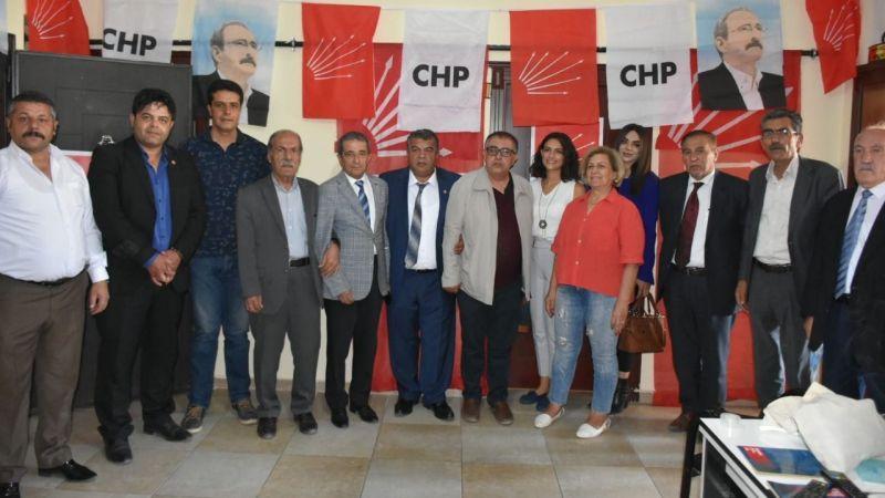CHP Van heyetinden, İpekyolu İlçe Başkanı Doğan'a ziyaret