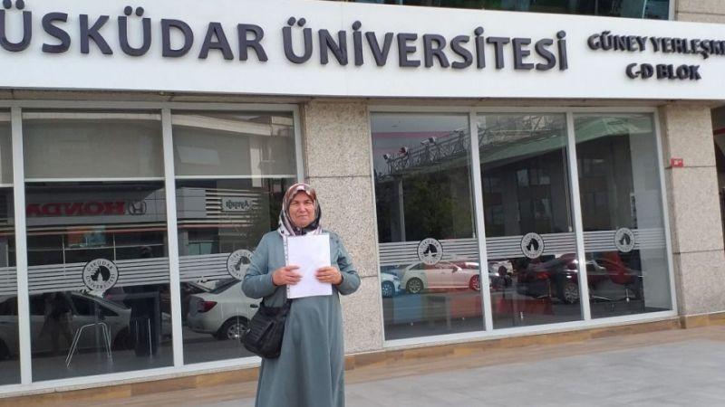 İlkokul mezunu Fatma Tunca'nın yüksek lisansa uzanan başarı hikayesi