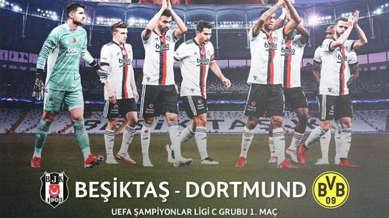 Beşiktaş - Borussia Dortmund maçı ne zaman? Saat kaçta? Canlı izle