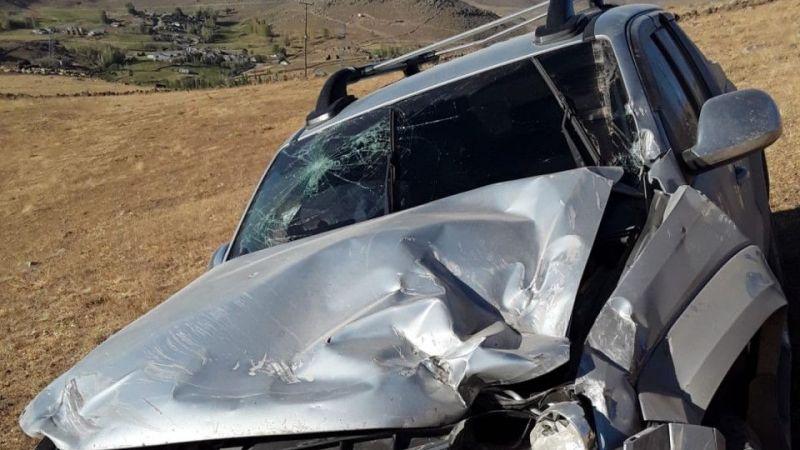 Van Muradiye'de trafik kazası: 3 kişi yaralandı