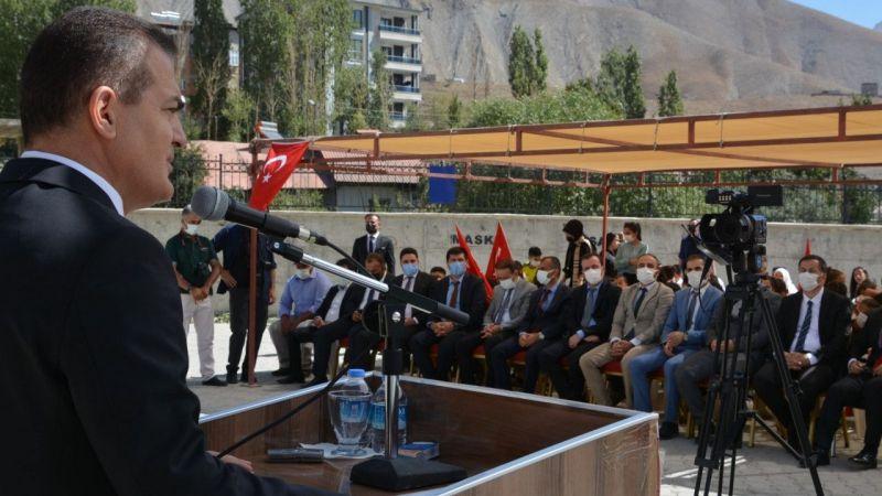 Vali Akbıyık: Hakkari'ye tarihi yatırım yapıldı