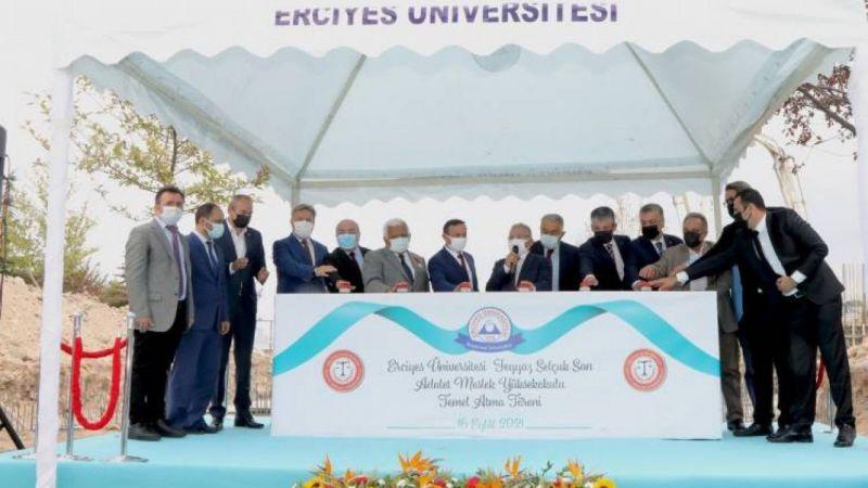 Erciyes Üniversitesi'ne yeni bölüm