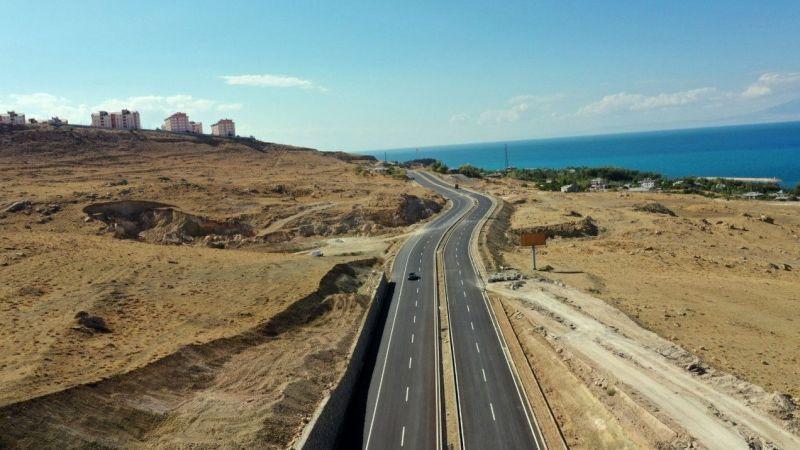 Van Edremit TOKİ yolu tamamlandı