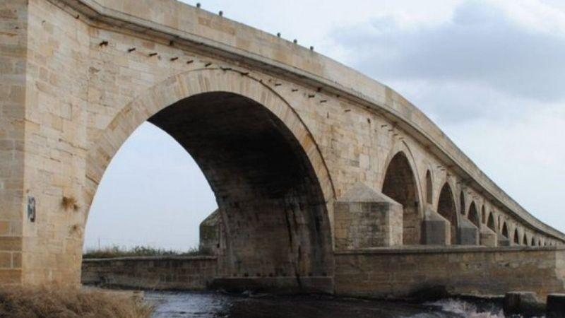 Edirne Tarihi Uzunköprü'de 3,5 yıl sürecek restorasyon