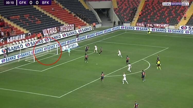 Süper Lig tarihinin en erken golü Gaziantep'ten geldi!