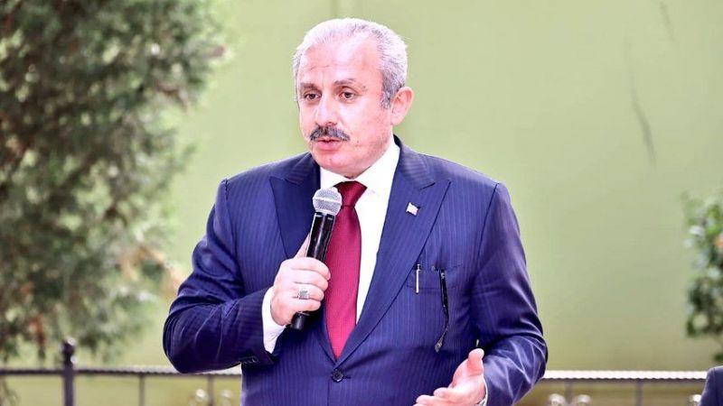 TBMM Başkanı Şentop'tan seçim kanunu açıklaması