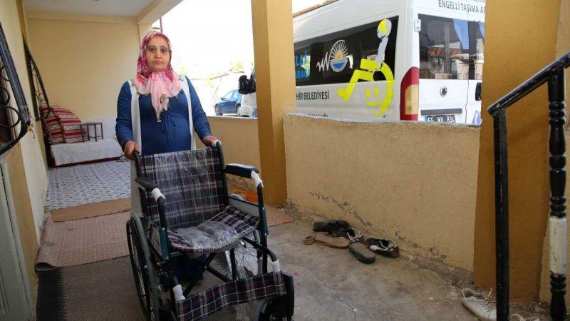 Van'da 9 vatandaşa tekerlekli sandalye desteği
