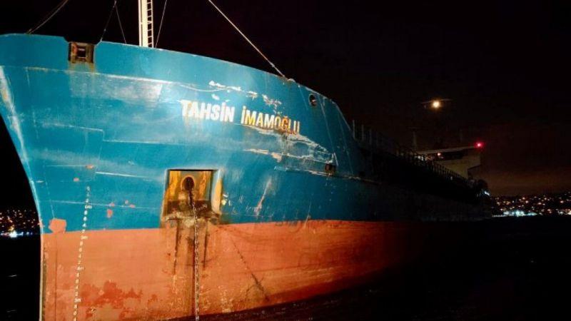 İstanbul Boğazı'nda gemi kazaları! Türk ve Rus gemisi çarpıştı