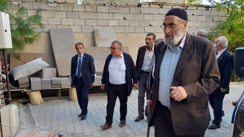 Başkan Bedirhanoğlu, selzedelerle bir araya geldi