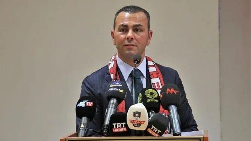 Vanspor FK Başkanı İzsiz'den çağrı: Sizleri liderlik maçına bekliyorum