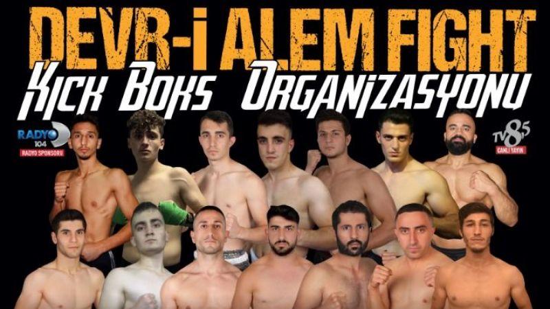 Devr-i Alem Fight Kick Boks Organizasyonu Serisi 25 Ekim de İstanbul'da