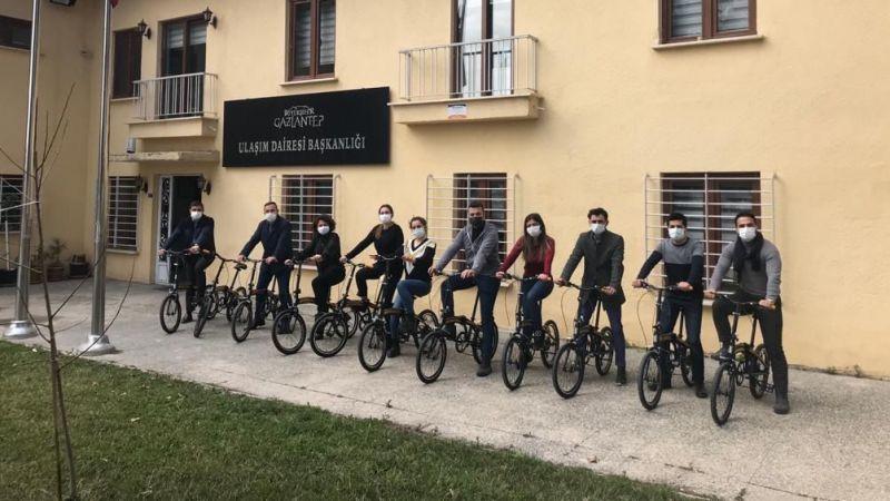 Türkiye'de ilk! Gaziantep Bisiklet Dostu İşveren unvanı aldı