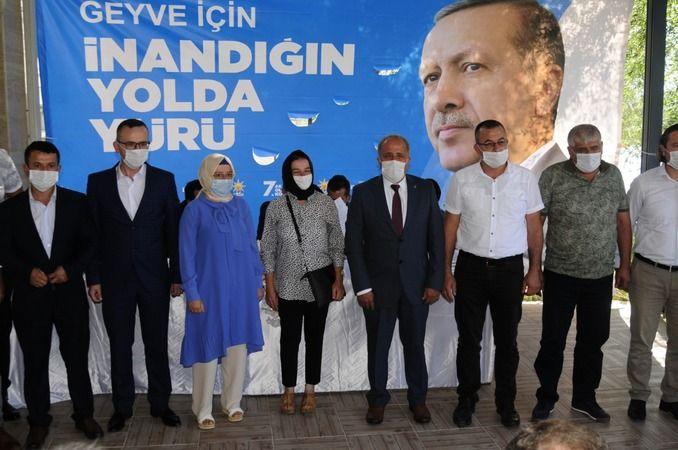 Geyve Ak Partide Özdemir güven tazeledi..