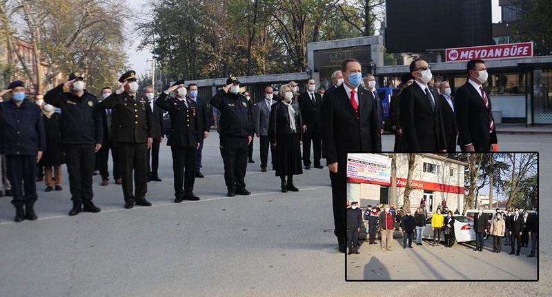 Ulu Önder Atatürk 82'inci ölüm yıl dönümünde törenle anıldı..