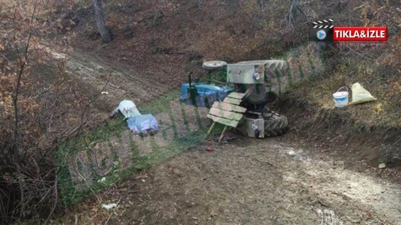 Mantar toplamaya gidiyorlardı traktör devrildi! 2 ölü 1 yaralı