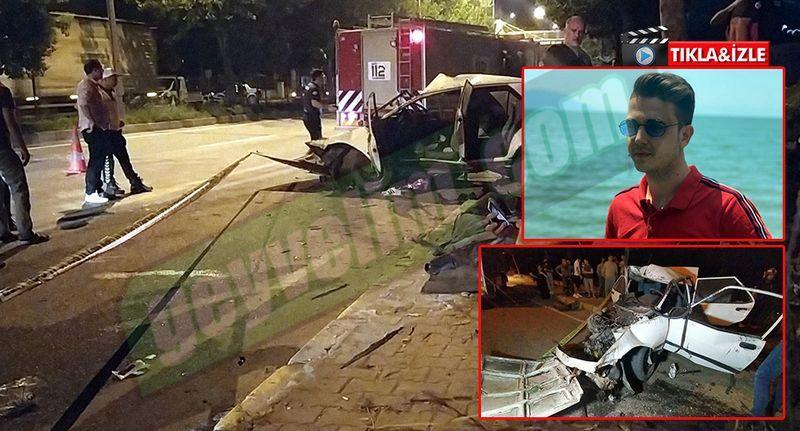 Pamukova^da feci kaza1 1 ölü 1 yaralı...