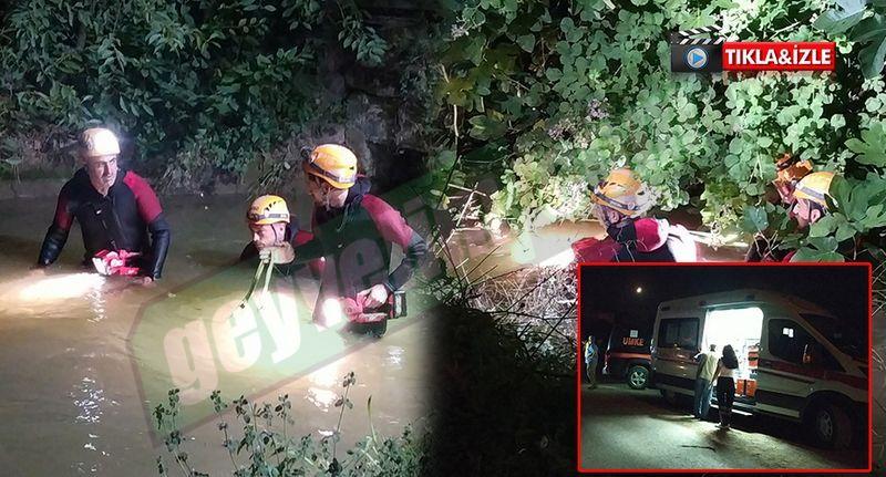 Geyve'de 4 yaşındaki Ömer sulama kanalına düştü! Cansız bedeni 6 saat sonra bulundu