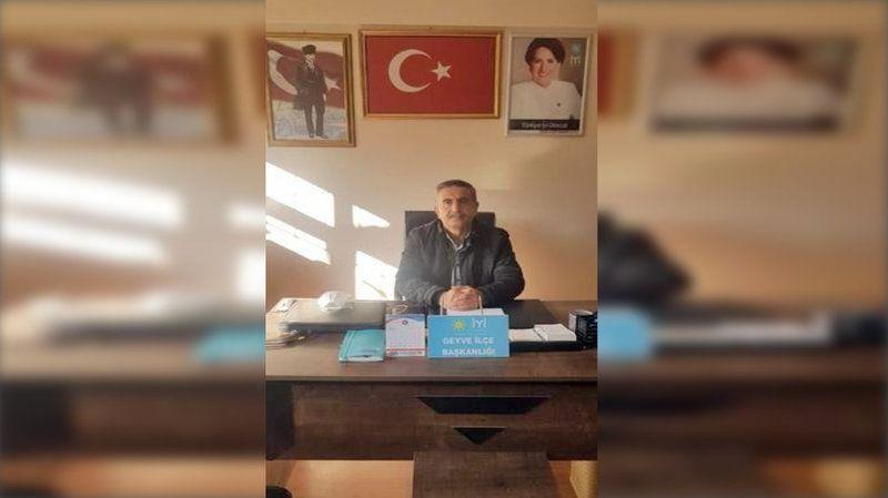 İYİ Parti İlçe Başkanı Baran'dan Kurban Bayramı Kutlama Mesajı...