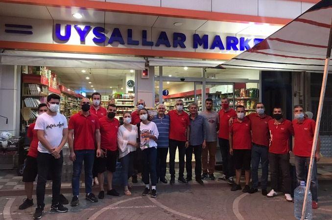 Köseoğlu ekibi Uysallar Market'in konuğuydu...
