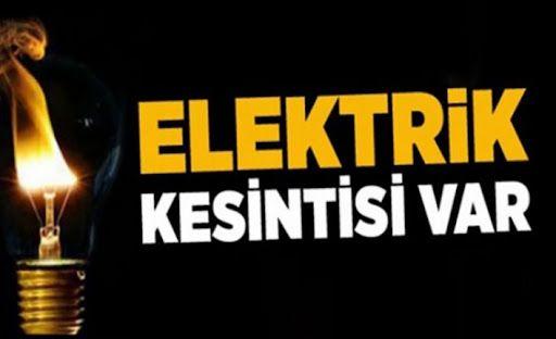 Geyve'de hafta sonu bu mahallerde 8 saate kadar elektrik kesintisi var!