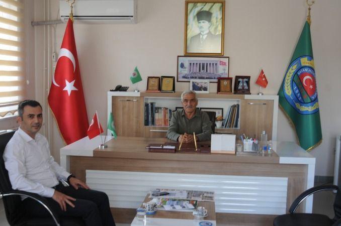 Denizbank Şube Müdüründen Ziraat Odası başkanı Pınar'a ziyaret