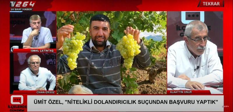 """Geyve'de 20 üzüm üreticisi """"Dolandırıldık"""" diyerek Jandarmaya başvurdu!"""