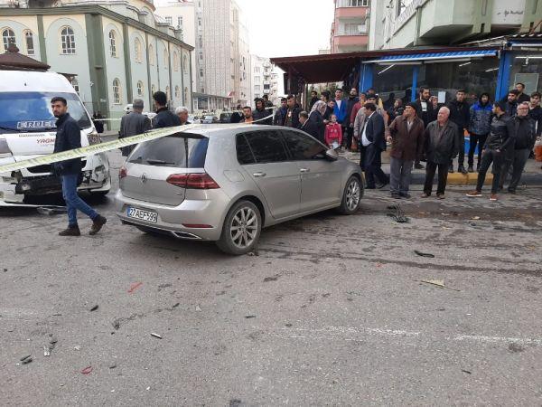 Gaziantep'te 3 Araç Kaza Yaptı