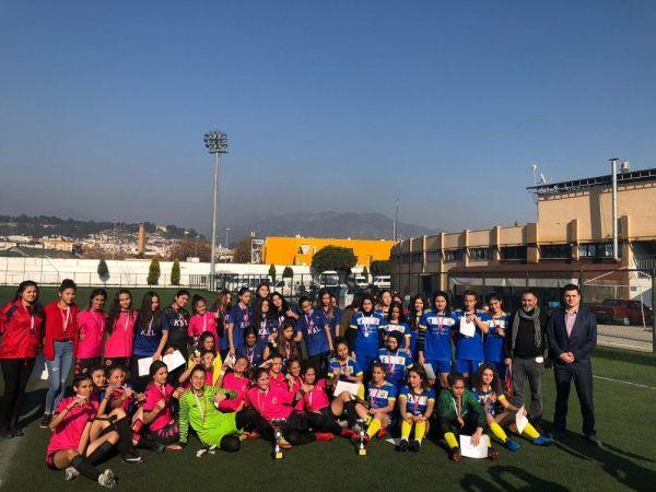 Şampiyon Genç Kızlarda İncirliova Spor Lisesi Oldu